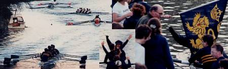 Rowing over Head, Lents '98