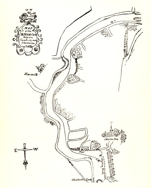 Reproduction of the racing course illustration