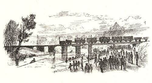 Easter Railways bridge across the Cam, 1846-1870
