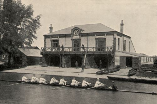 1st Trinity Boat Club's boathouse in 1872