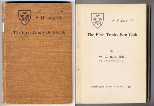 Front and inside front covers of the book