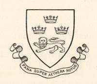 The 1st Trinity Boat Club shield and motto